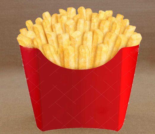 túi giấy đựng khoai tây chiên